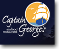 Captain George's seafood buffet is located in central Myrtle Beach