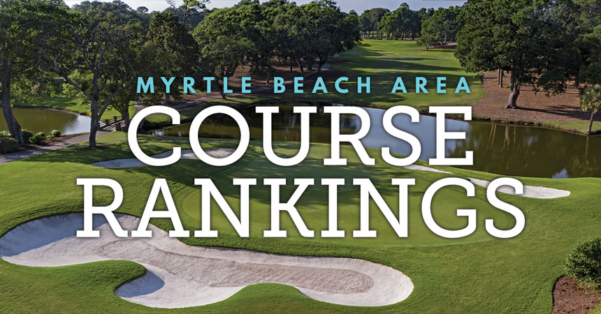 Myrtle Beach Area Golf Course Rankings - Mobile
